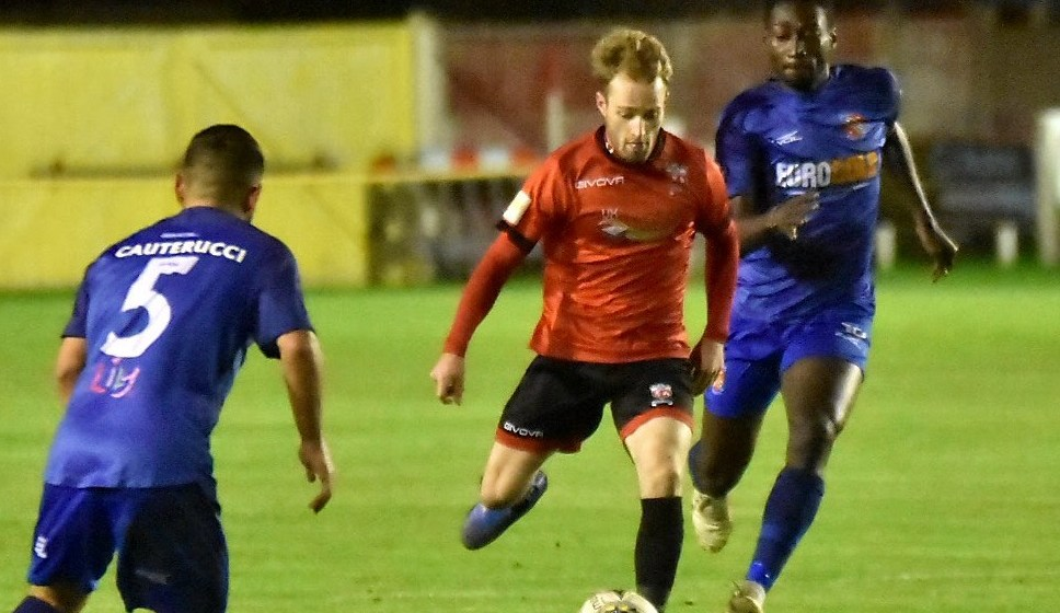 Seven heaven for Prestatyn Town – pure hell for eight-man Bangor City