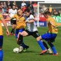 Cymru North: Joy for Rhyl and Colwyn Bay in derby clashes, while Bangor City and Flint win again
