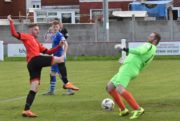 Cymru North: Seventh straight league win for Prestatyn but manager Gibson less than impressed