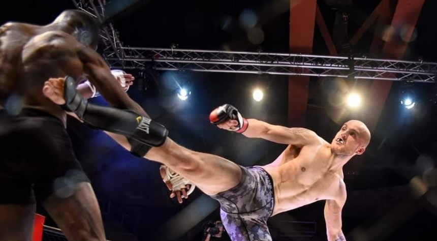 North Wales MMA fighter Kyle Jones is definitely a man to watch