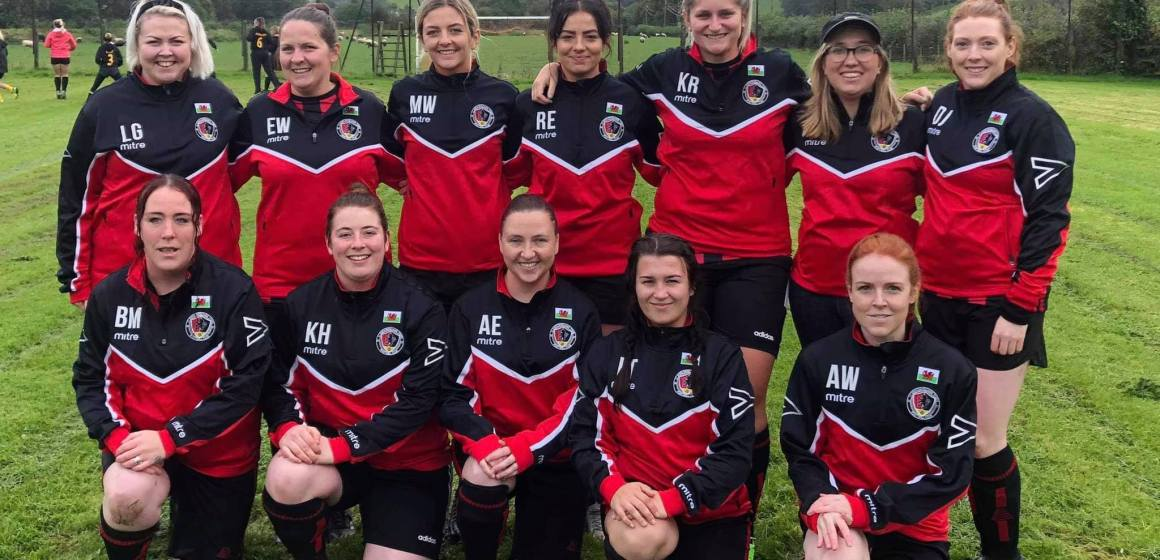 The North Wales Women's Recreational Football League is underway!