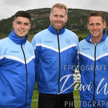 Meet the Managers: Carl Jones, Steve Jones, Alan Wyn Jones (Nefyn United)