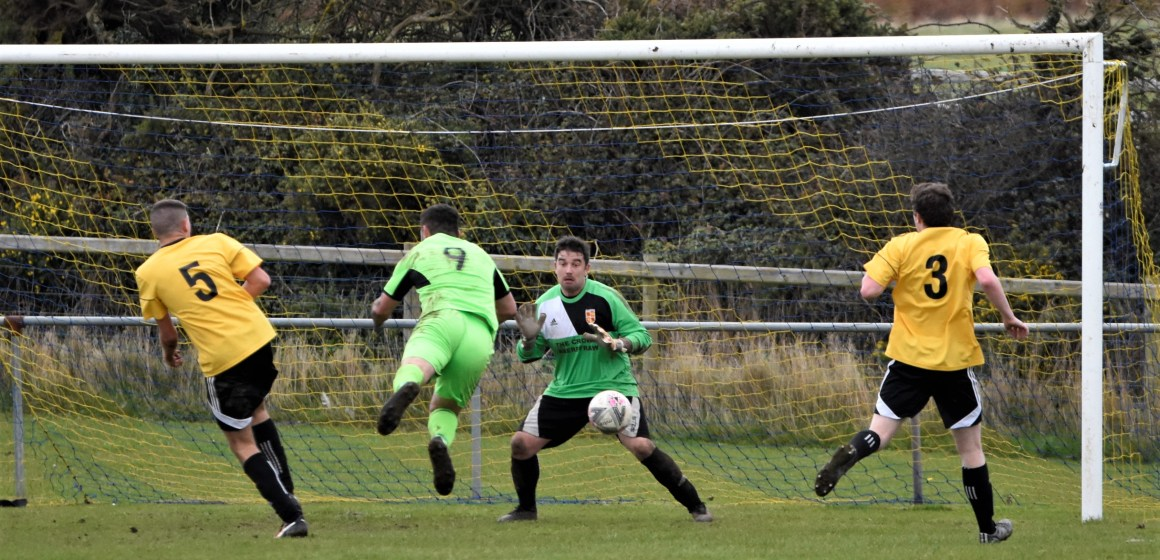 Which performances stood out most on the weekend North Wales football scene?