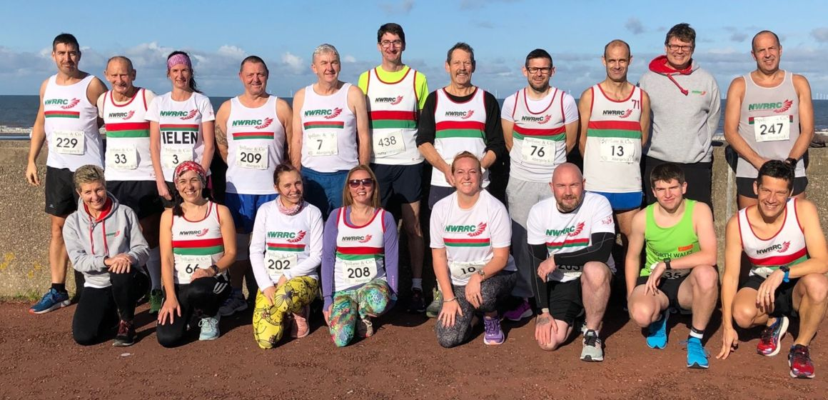 Medals and PBs galore in Abergele 5-mile for North Wales Road Runners