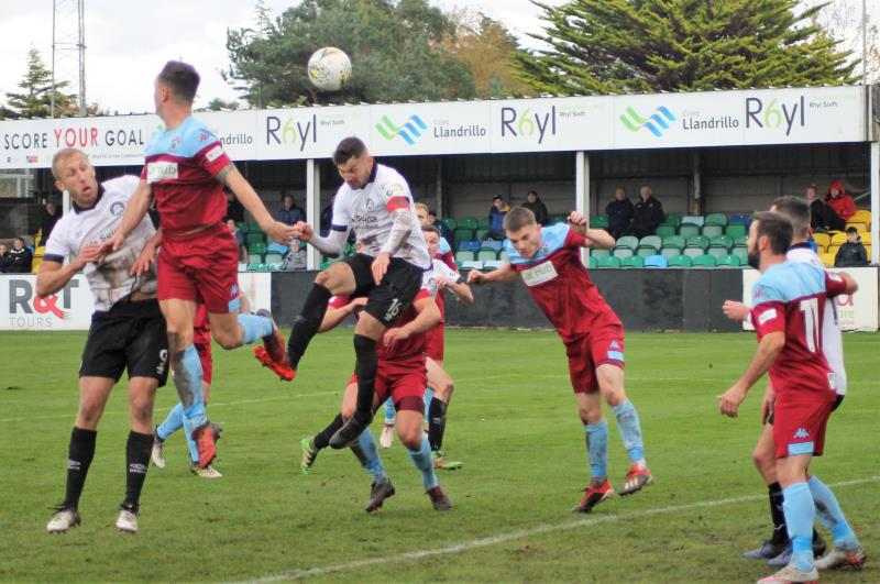 Seven straight victories, great Welsh Cup draw – things look good for Colwyn Bay