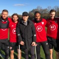 Wales squad brings joy to Danny Gosset as he continues on road to recovery