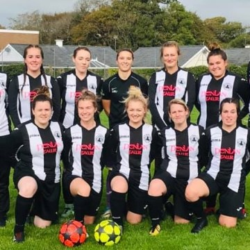 Women's football: Six for Rosie and five from Lowri in NEWFA Cup canings