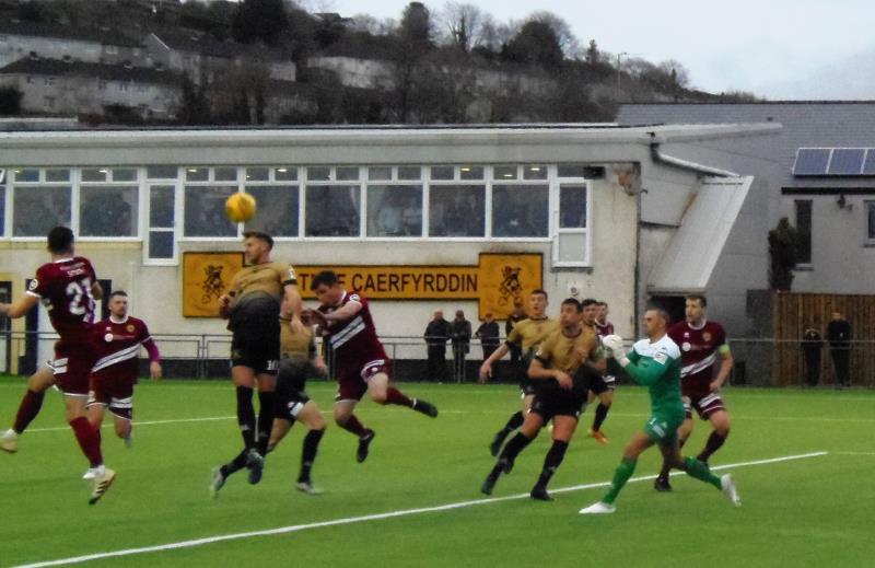 Cymru Premier: Four wins in a row for Caernarfon Town