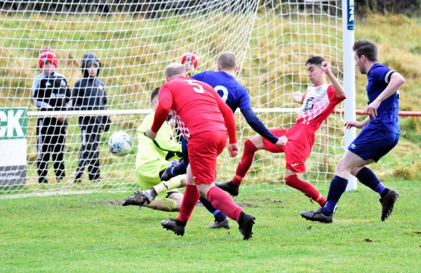 Welsh Alliance: Walker hits five as Denbigh storm to 11-1 win, table-toppers Hotspur go nap