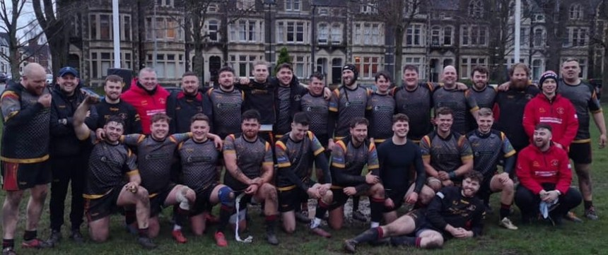 Rugby: Holyhead coach Parry hails support of other North Wales clubs during fairytale cup run