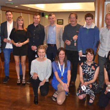 Awards night for North Wales Road Runners Club