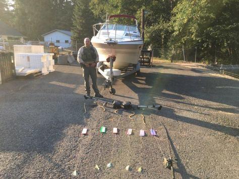 Egregious Sekiu Salmon Poacher Fined, Forfeited Boat