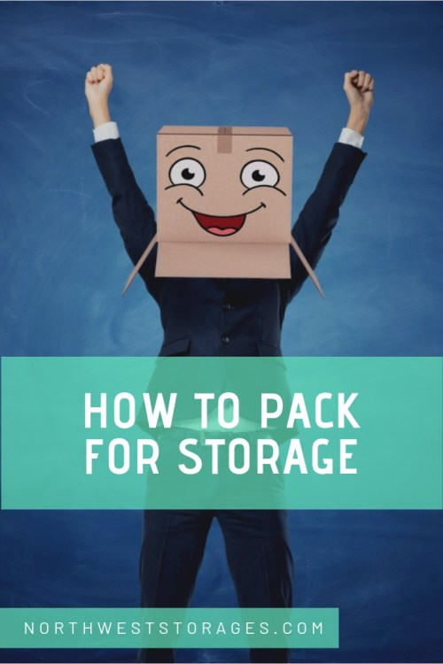 How to pack for storage