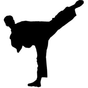 Kicking man pic
