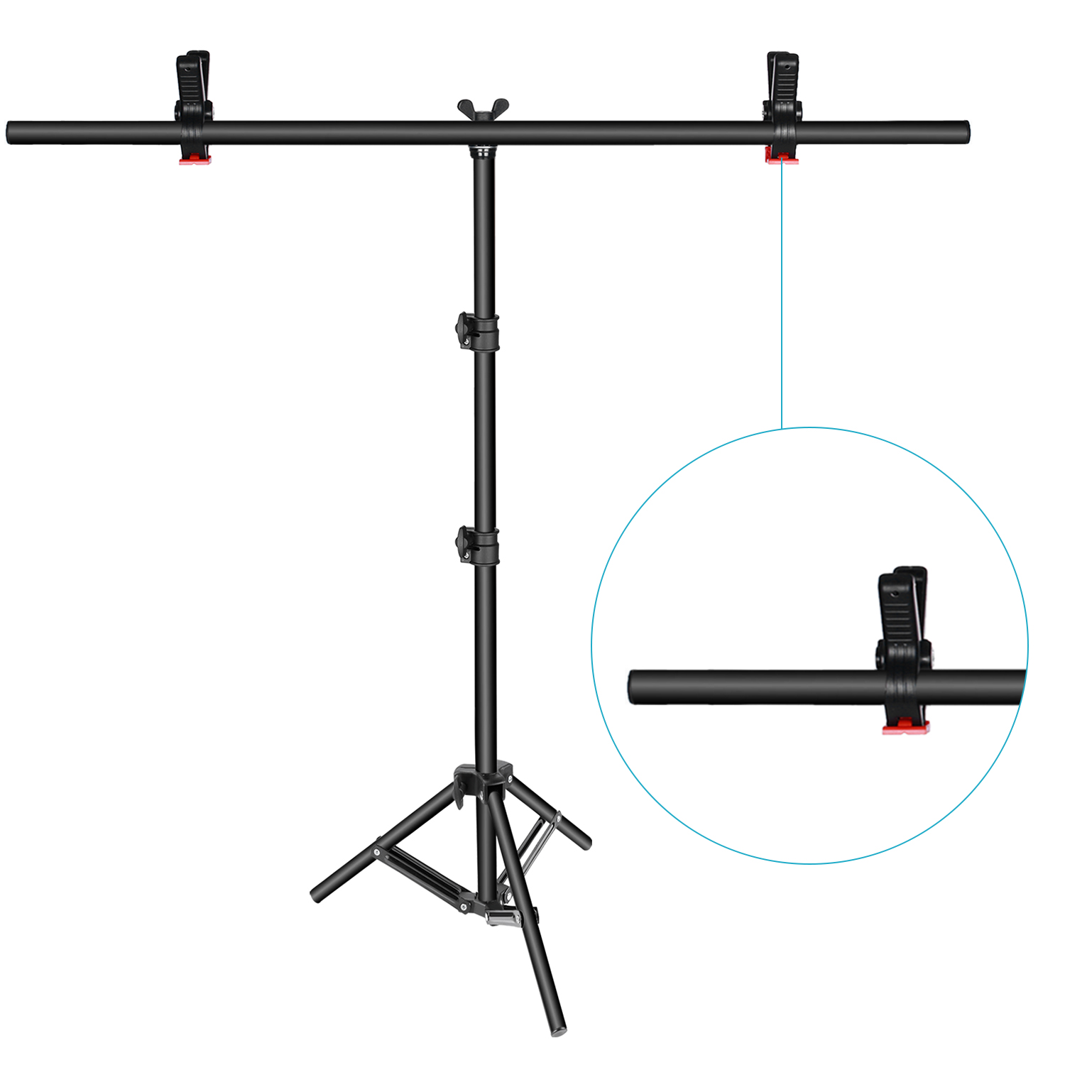Neewer T Shape Adjustable Background Support Stand