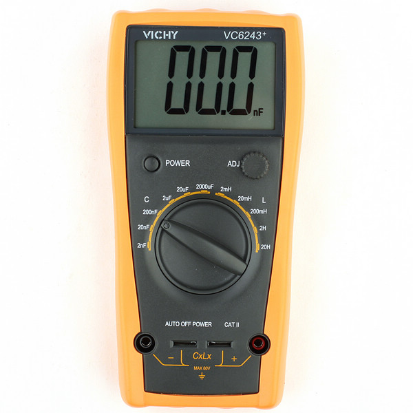 VICHY VC6243 LC Meter Inductance Digital Capacitance 20H