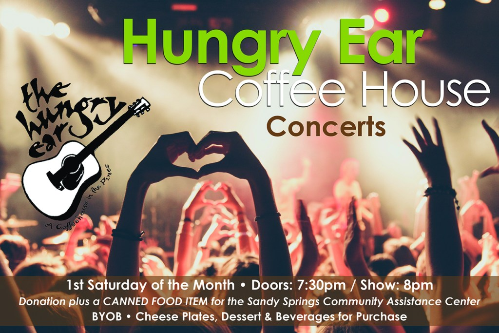 Hungry Ear Coffee Shop Concerts