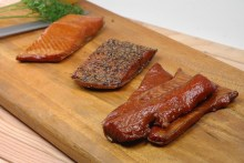 Image result for smoked salmon