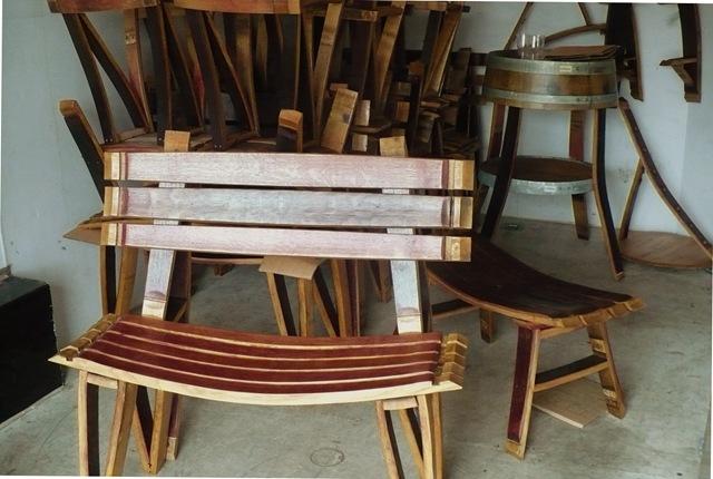 Bottom of the Barrel Co  Wine Barrel Furniture  NW Wine