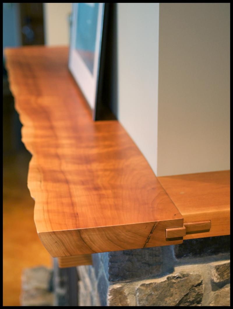 End And Side Tables Seola Mantel | Northwest Woodworkers Gallery