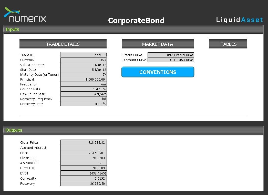 Corporate Bond Pricing