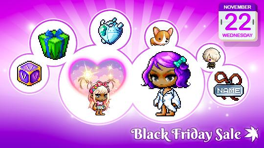 Wednesday November 22 Black Friday Deals  MapleStory