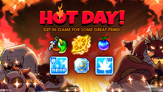 April Fools Hot Day  MapleStory