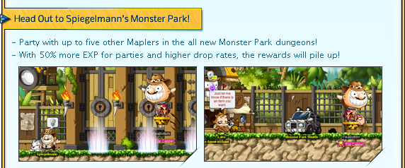 Head Out to Spiegelmann's Monster Park!