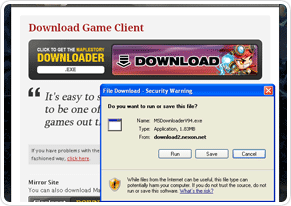 Download the MapleStory Downloader
