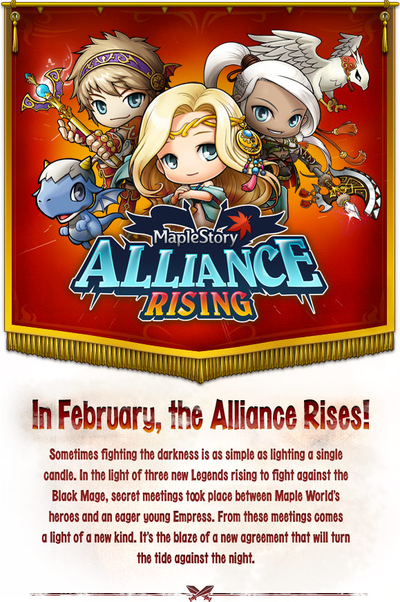 MapleStory Alliance Rising
