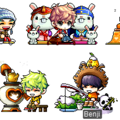 Ice Fishing Chair Maplestory Office Reviews In Progress January Gachapon Update Ring The New Year With White Seal Cushion Lucky Moon Bunny Kotatsu Furnace Polar Bear S