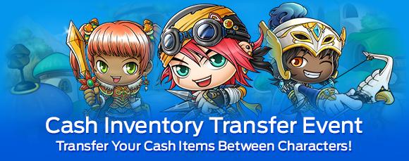 Cash Inventory Transfer Event 42  48  MapleStory