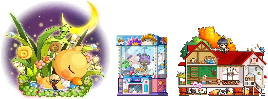 ice fishing chair maplestory side chairs for dining updated cash shop update 3 1 pick up the amazing dozing duckling claw machine and tiny toy mansion