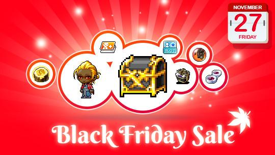 November 27 Black Friday Deals  MapleStory