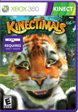 Kinectimals Game Box