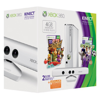 Xbox 360 Special Edition 4GB Kinect családi csomag