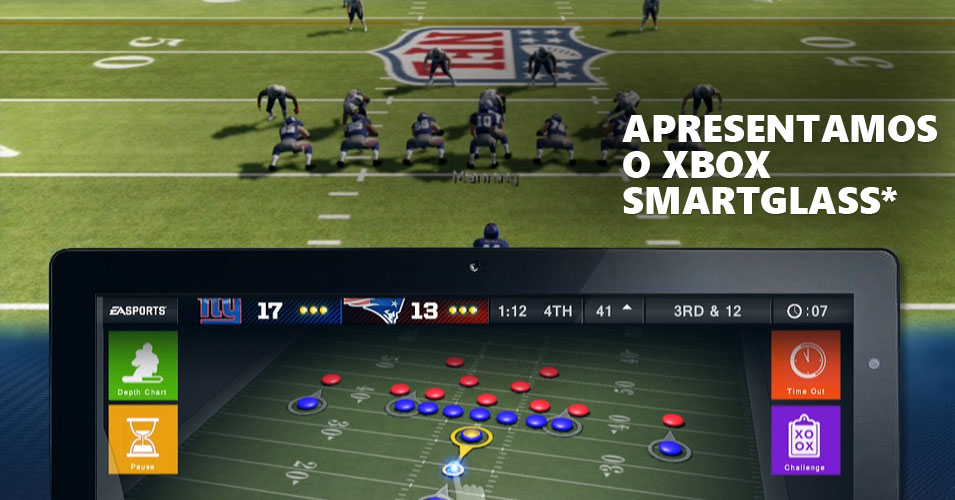 Apresentamos o Xbox SmartGlass