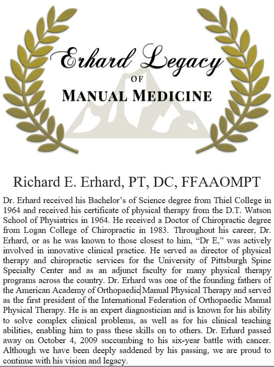 Orthopedic Manual Physical Therapy Certification Complete Wiring