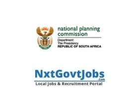 Department of National Planning Commission Vacancies 2021 | Government Director job