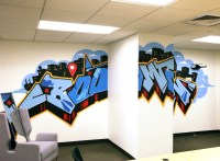 Facebook Anamorphic Graffiti Art - Graffiti Artist For Hire