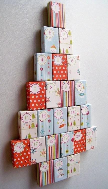 Funky U-Fill Magnetic Christmas Advent Calendar