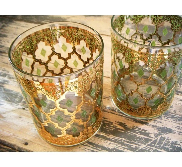 Vintage Gold Glasses
