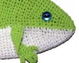 Crochet Frog Bag