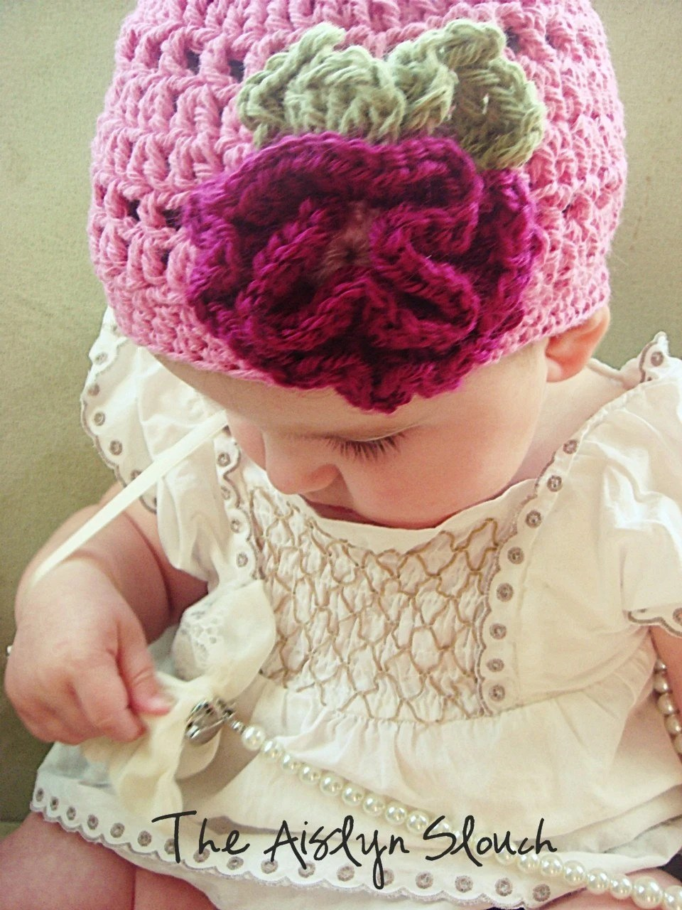The Aislyn Slouch Hat- Newborn-Adult