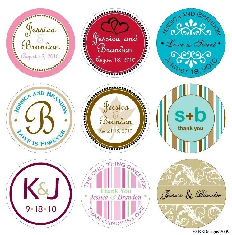 Customized Digital Wedding / Personal Monograms - can be used for stickers, cards, invites, etc.