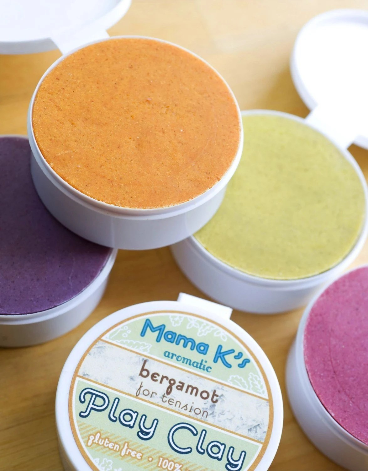 Choose to Soothe with 3 Aromatic Play Clays from Mama K's