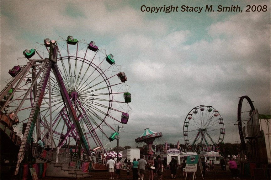 8x10 Photo Print - County Fair Midway