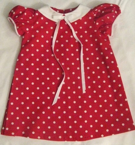 1967 Pattern inspired this adorable Gidget dress..