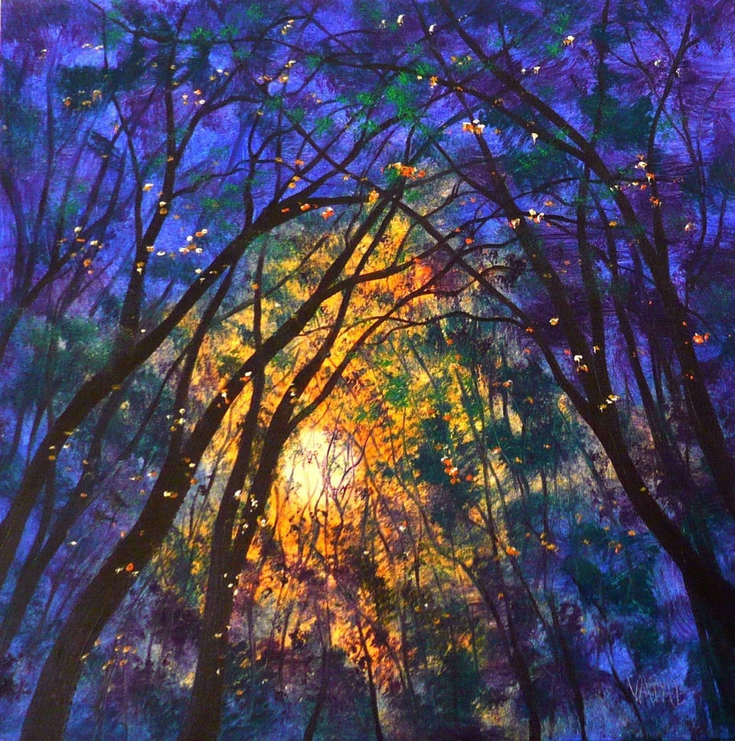 Fireflies in autumn sun   PRINT  8x10 ALL PRINTS BUY 3  GET ONE FREE SALE