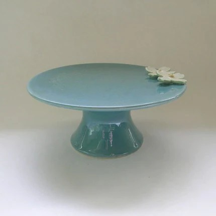 Small Dogwood Flower Cake Stand